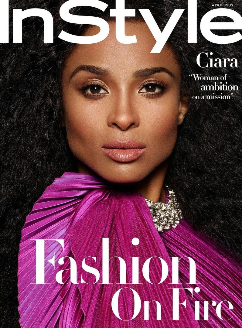 Ciara InStyle 10 - Фото: Сиара для InStyle