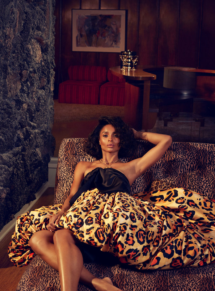 Ciara InStyle 2 - Фото: Сиара для InStyle