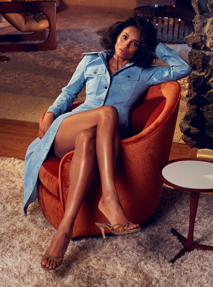 Ciara InStyle 6 - Фото: Сиара для InStyle