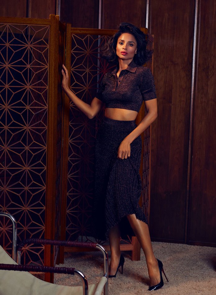 Ciara InStyle 8 - Фото: Сиара для InStyle