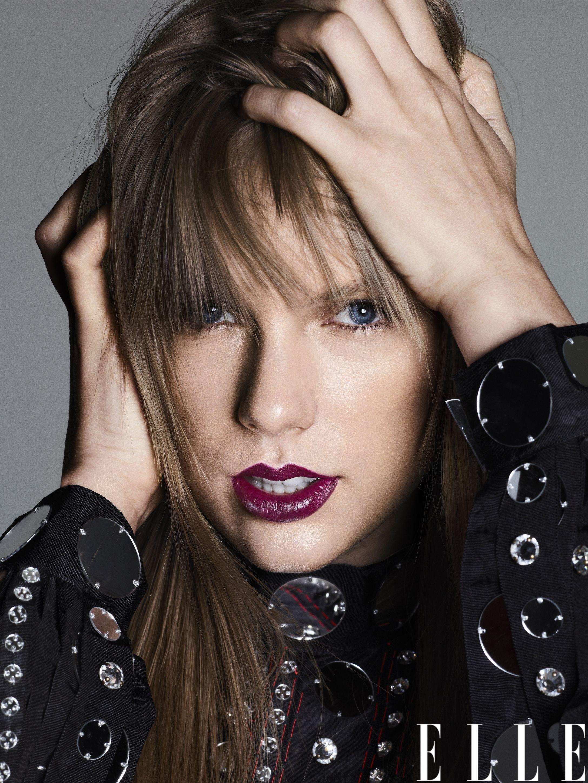 """Тейлор Свифт на обложке """"Elle"""""""