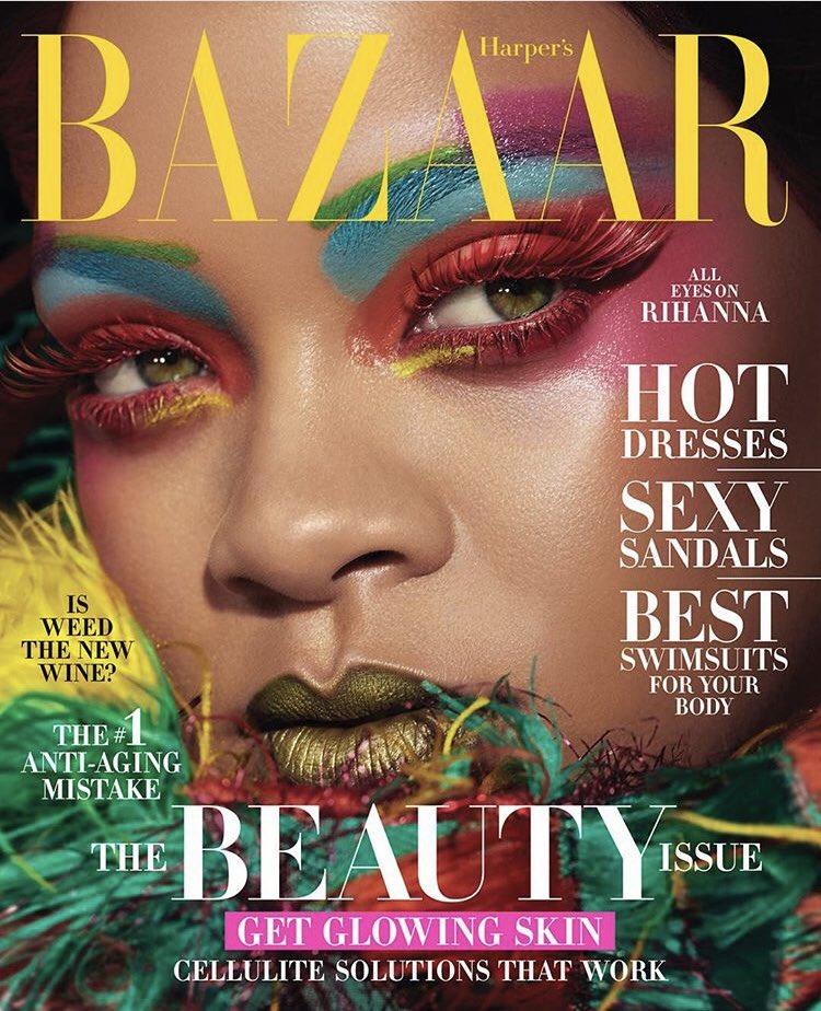 Rihanna Harper s Bazaar 1 - Фото: Рианна на обложке Harper's Bazaar
