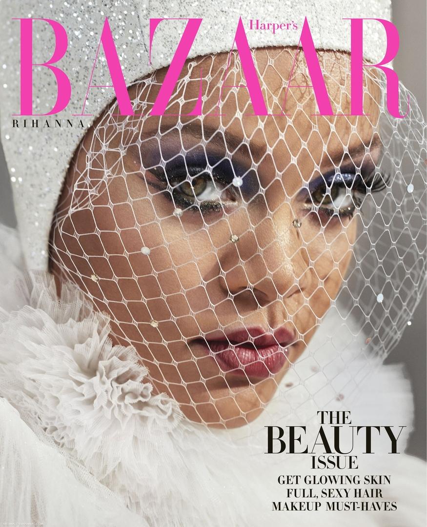 Rihanna Harper s Bazaar 11 - Фото: Рианна на обложке Harper's Bazaar