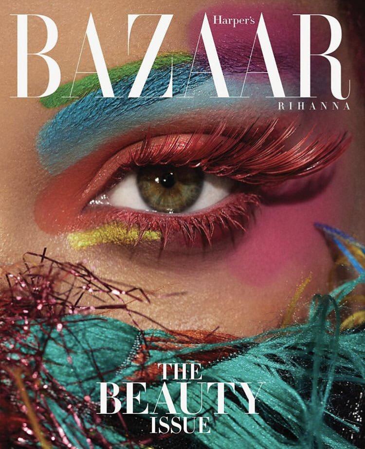 Rihanna Harper s Bazaar 2 - Фото: Рианна на обложке Harper's Bazaar