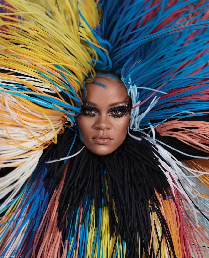 Rihanna Harper s Bazaar 4 - Фото: Рианна на обложке Harper's Bazaar