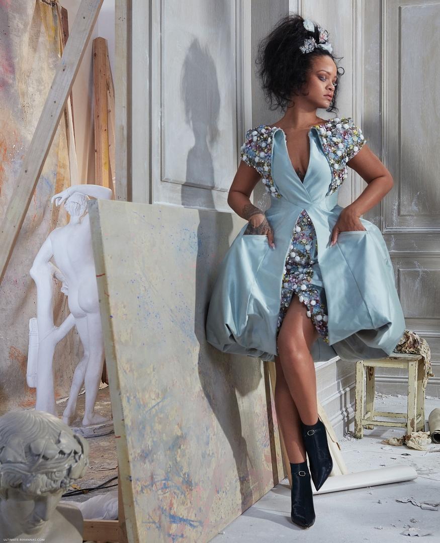 Rihanna Harper s Bazaar 8 - Фото: Рианна на обложке Harper's Bazaar