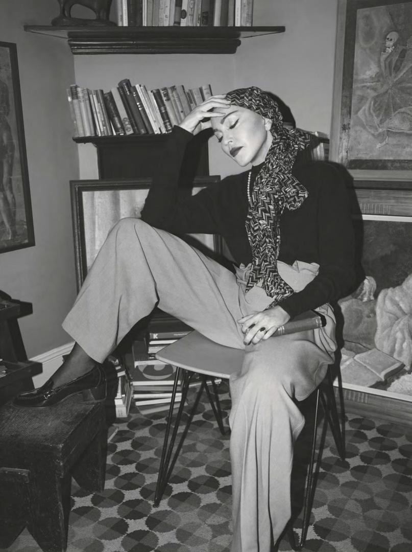 Фото: Мадонна на обложке Vogue UK