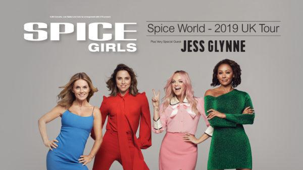 "Spice World 2019 Tour  600x338 - Воссоединившиеся Spice Girls отправились в тур ""Spice World – 2019 Tour"""