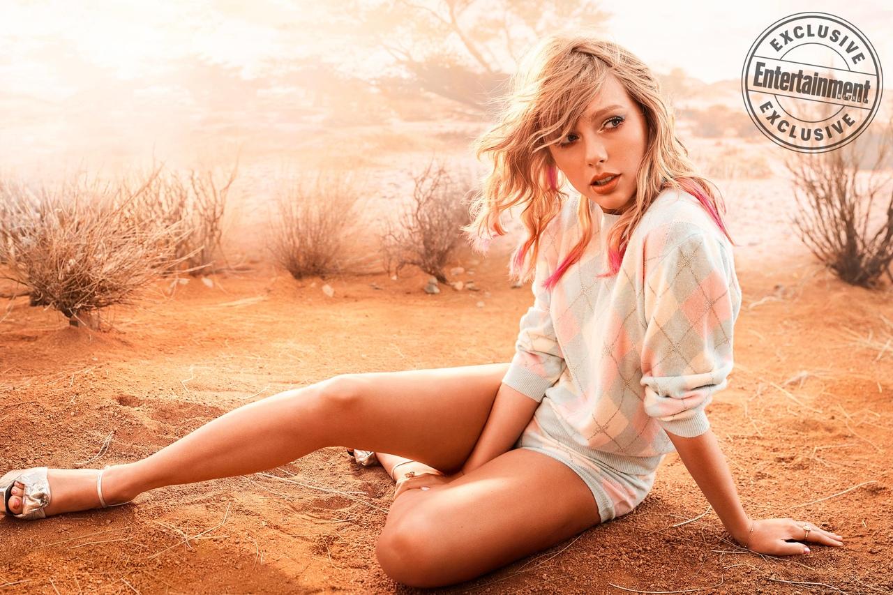 Фото: Тейлор Свифт на обложке «Entertainment Weekly»