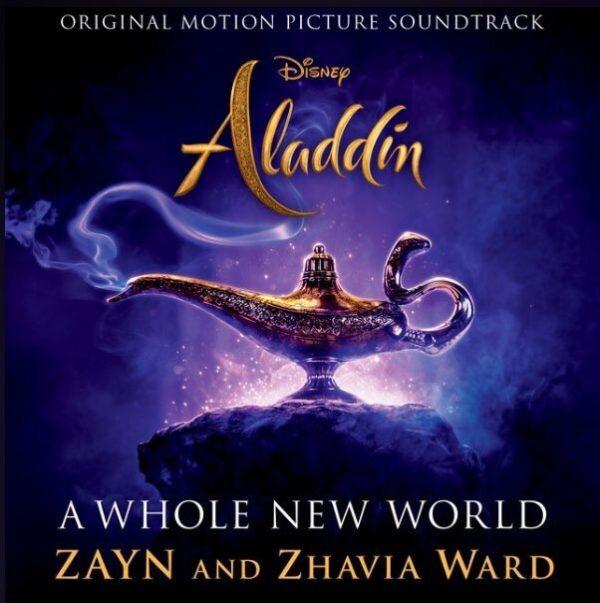 ZAYN Zhavia Ward A Whole New World 600x603 - ZAYN & Zhavia Ward - A Whole New World