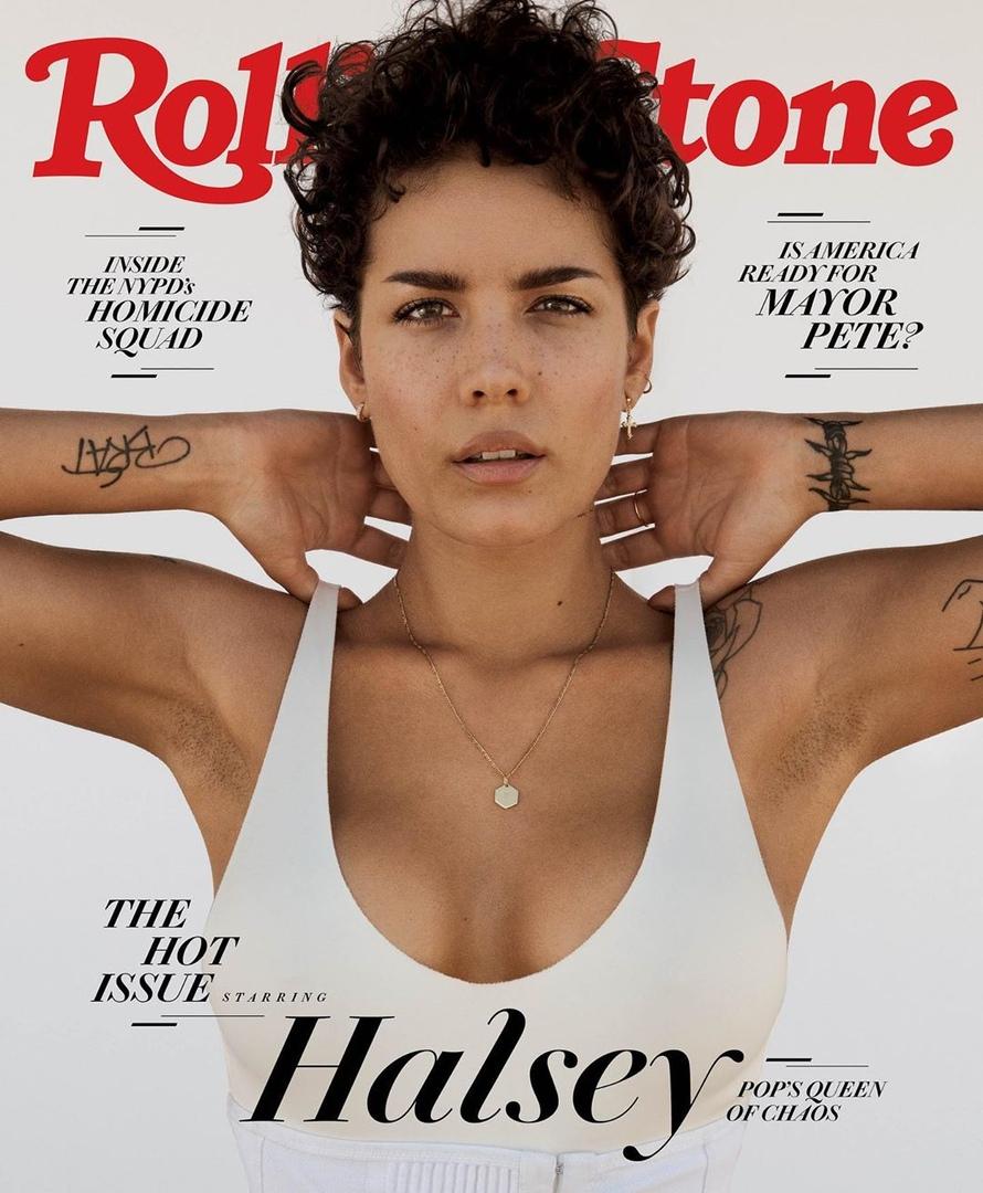 Halsey Rolling Stone 6 - Фото: Холзи на обложке Rolling Stone