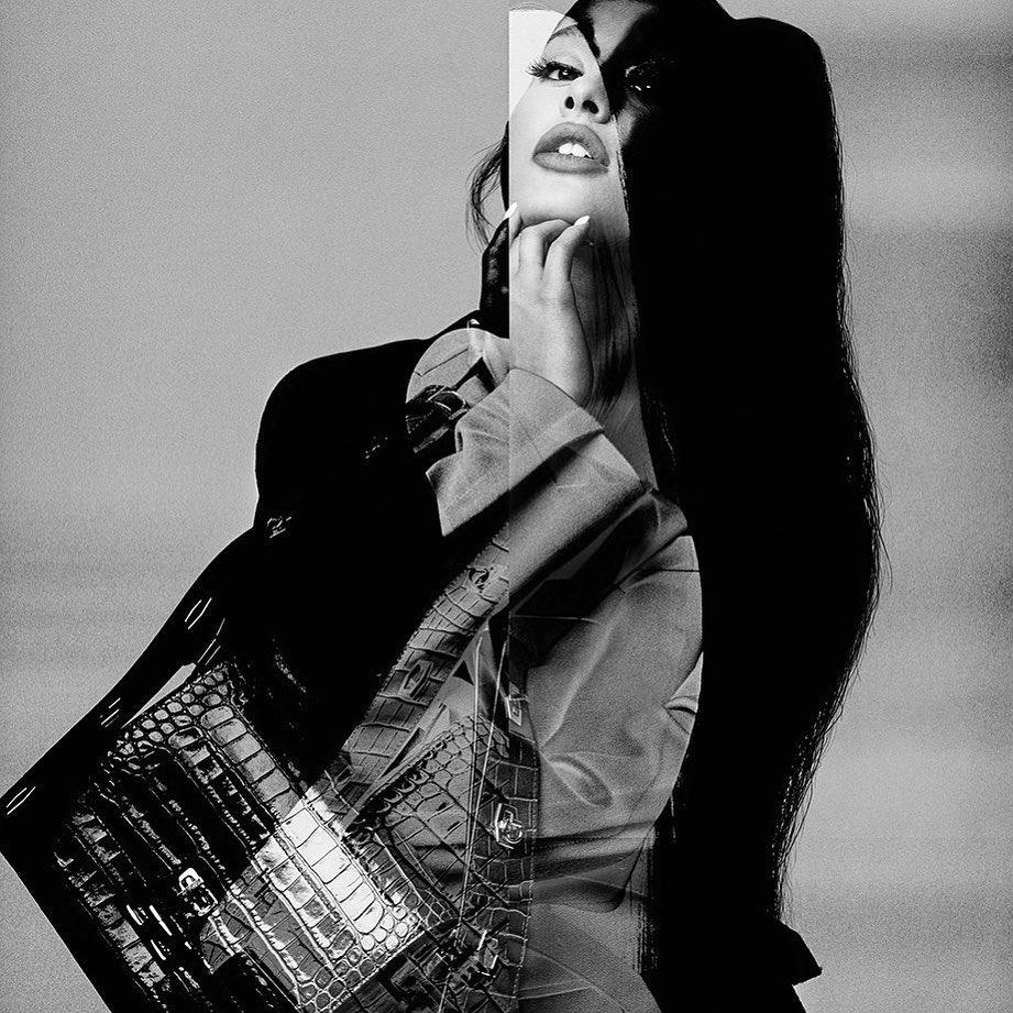 Фото: Ариана Гранде для Givenchy