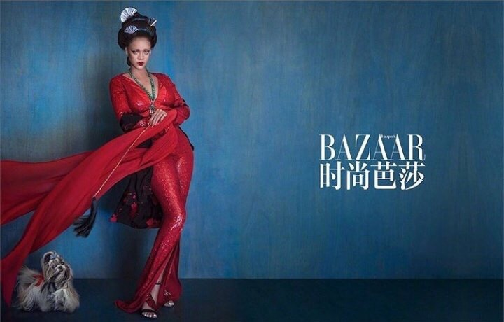 Фото: Рианна для Harper's Bazaar China