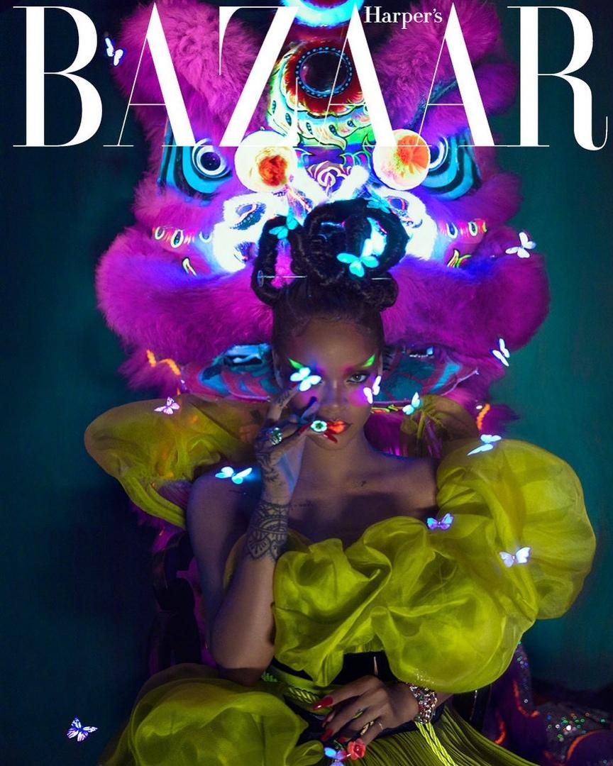 Фото: Рианна для Harper's Bazaar China
