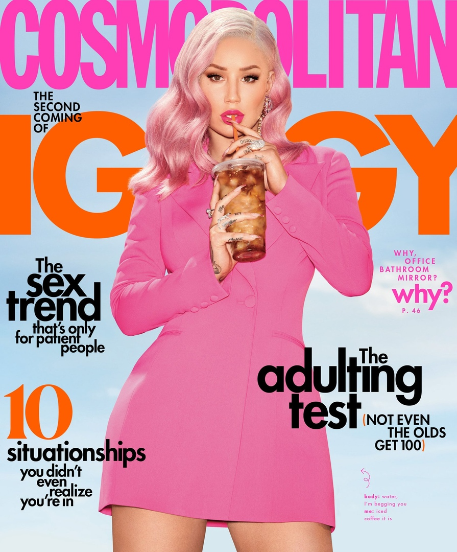 Iggy Azalea Cosmopolitan 10 - Фото: Игги Азалия для Cosmopolitan