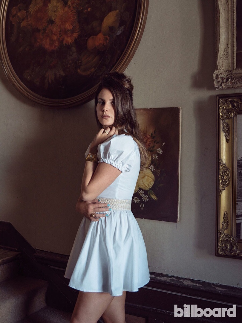 Lana Del Rey Billboard 2019 4 - Фото: Лана Дель Рей на обложке Billboard
