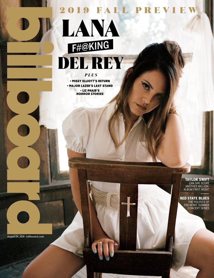 Lana Del Rey Billboard 2019 9 - Фото: Лана Дель Рей на обложке Billboard