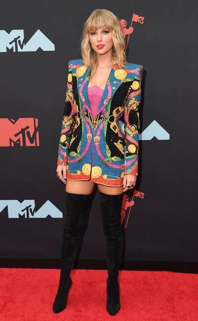 MTV VMA 2019 Taylor Swift - MTV Video Music Awards 2019: лучшие и худшие наряды (16 фото)