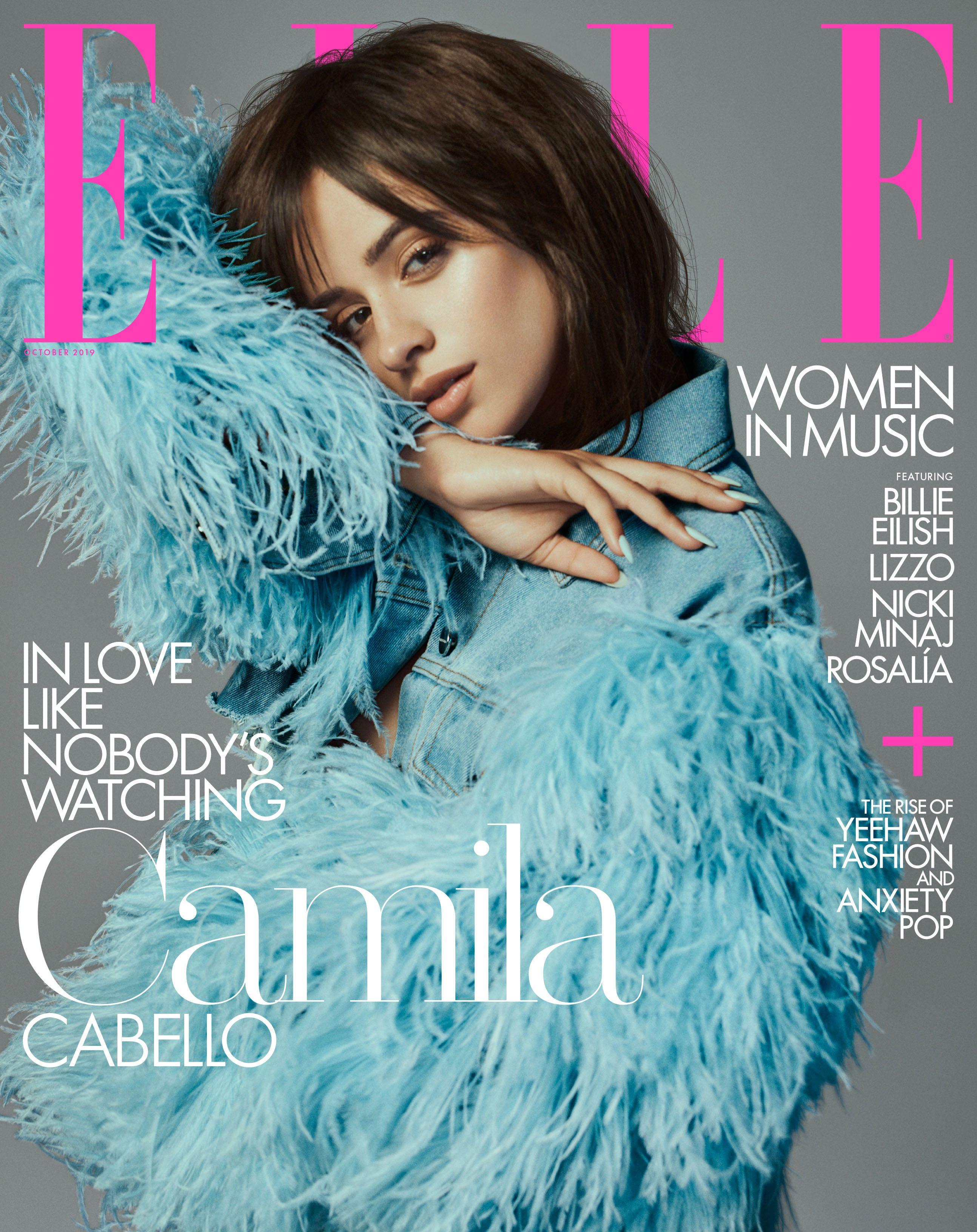 "Фото: Камила Кабейо на обложке ""Elle"""