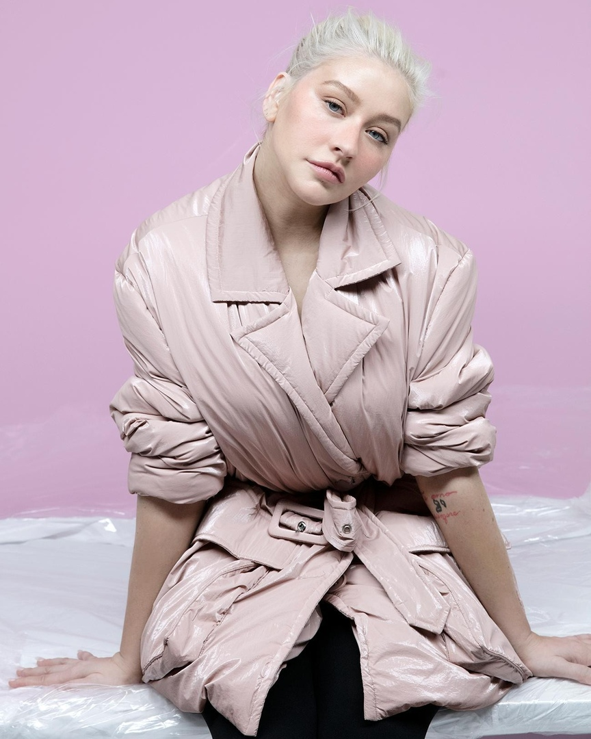 Christina Aguilera The Sunday Times Style 4 - Фото: Кристина Агилера для The Sunday Times Style