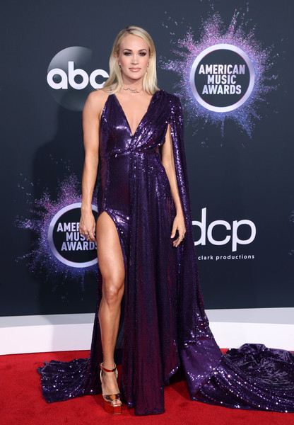Carrie Underwood 2019AmericanMusicAwards - American Music Awards 2019: Фотографии с красной дорожки
