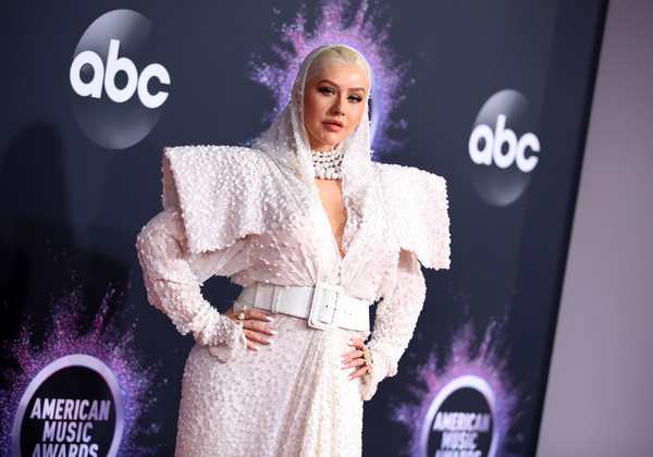 Christina Aguilera 2 2019AmericanMusicAwards - American Music Awards 2019: Фотографии с красной дорожки