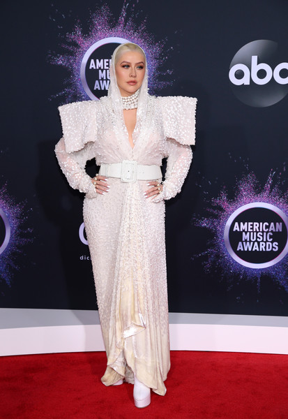 Christina Aguilera 2019AmericanMusicAwards - American Music Awards 2019: Фотографии с красной дорожки