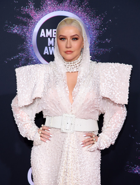 Christina Aguilera 3 2019AmericanMusicAwards - American Music Awards 2019: Фотографии с красной дорожки