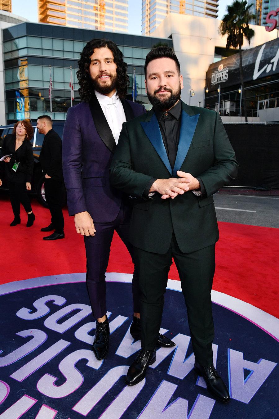 Dan Shay 2019AmericanMusicAwards - American Music Awards 2019: Фотографии с красной дорожки