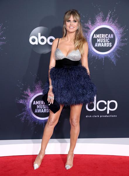 Heidi Klum 2019AmericanMusicAwards - American Music Awards 2019: Фотографии с красной дорожки