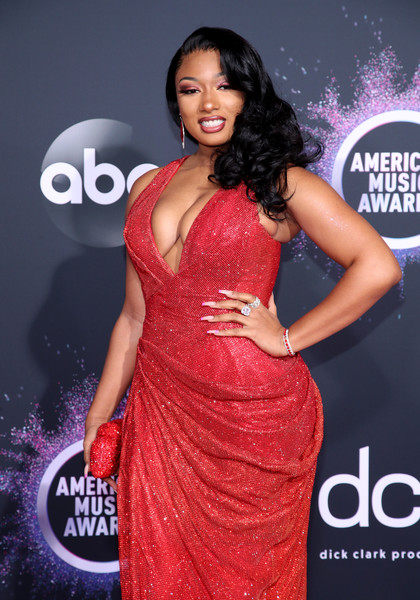 Megan The Stallion 2019AmericanMusicAwards - American Music Awards 2019: Фотографии с красной дорожки