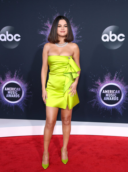 Selena Gomez 2 2019AmericanMusicAwards - American Music Awards 2019: Фотографии с красной дорожки