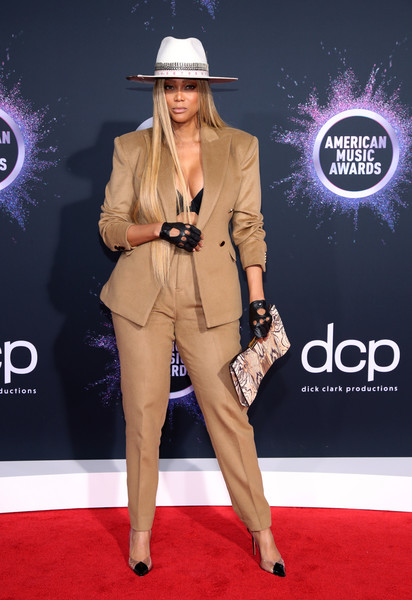 Tyra Banks 2019AmericanMusicAwards - American Music Awards 2019: Фотографии с красной дорожки