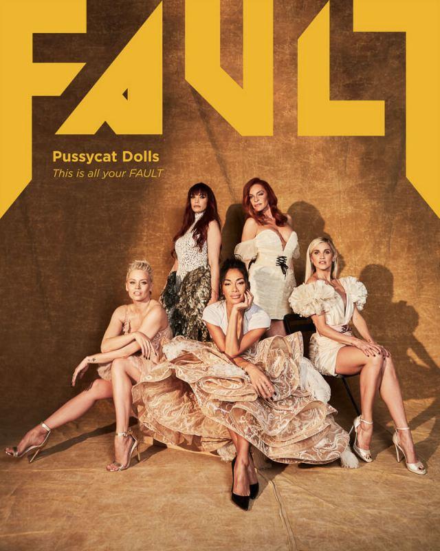 PUSSYCATDOLLS FAULT MAGAZINE 11 - Фото: The Pussycat Dolls на обложке журнала FAULT