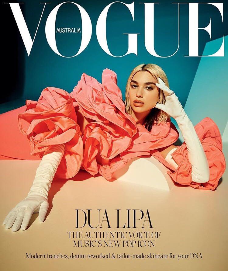 Dua Lipa Vogue Australia 10 - Фото: Дуа Липа на обложке австралийского «Vogue»