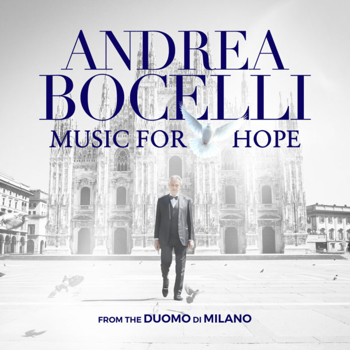 Andrea Bocelli Music For Hope From the Duomo di Milano EP 696x696 - Andrea Bocelli - Music For Hope: From the Duomo di Milano (EP)