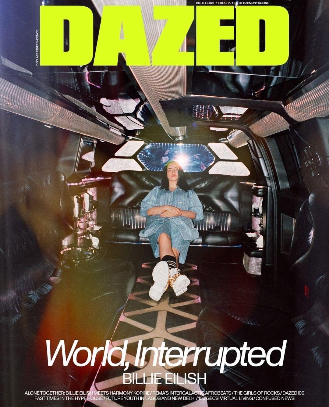Billie Eilish Dazed 2020 1 - Фото: Билли Айлиш на обложке журнала Dazed