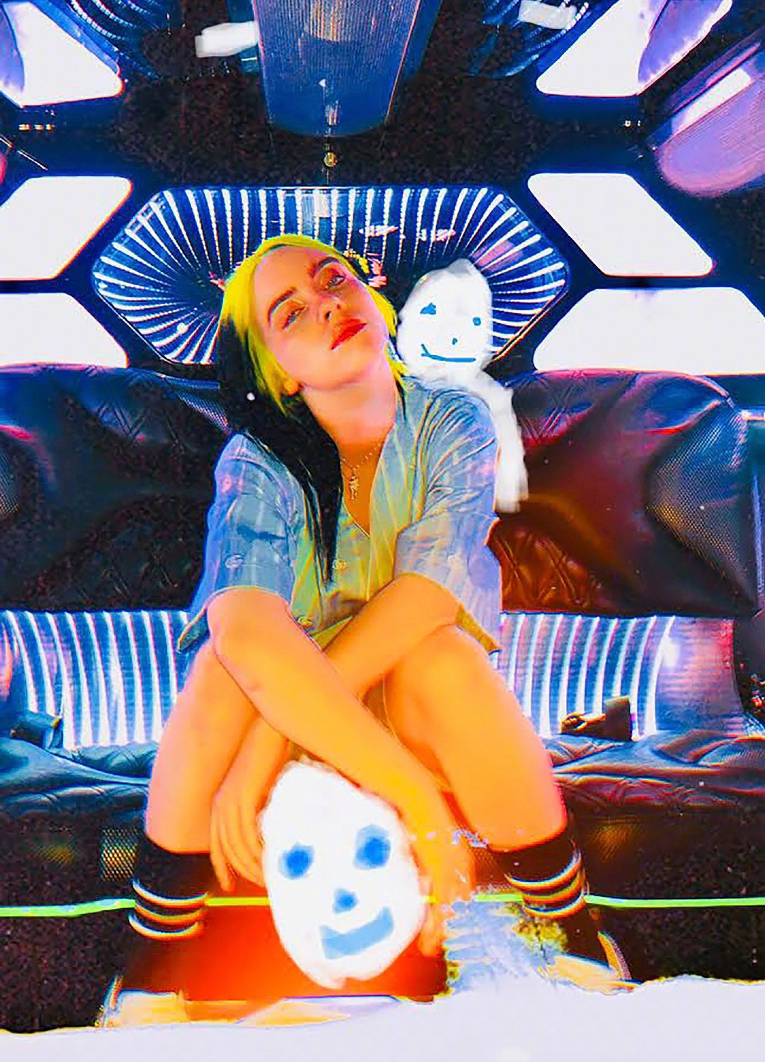 Billie Eilish Dazed 2020 5 - Фото: Билли Айлиш на обложке журнала Dazed