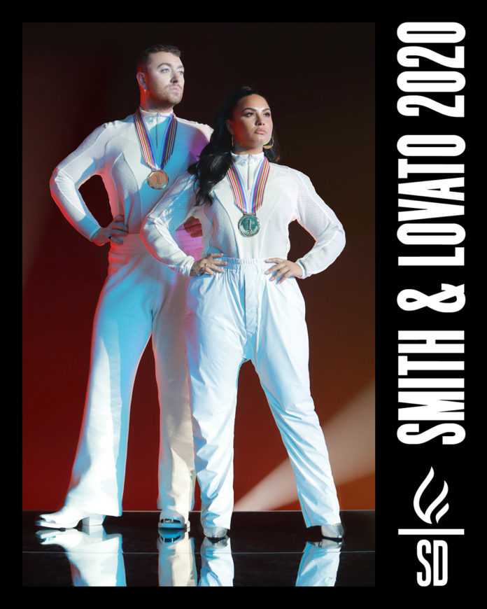 "sam smith demi lovato im ready 696x870 - Сэм Смит и Деми Ловато анонсировали сингл ""I'm Ready"""