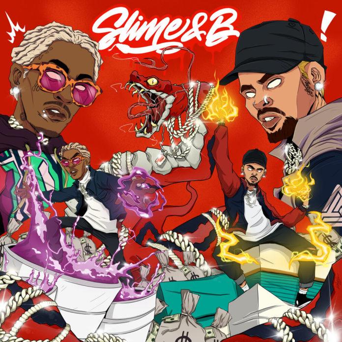 Chris Brown Young Thug Slime B Mixtape 696x696 - Chris Brown & Young Thug - Slime & B (Mixtape)
