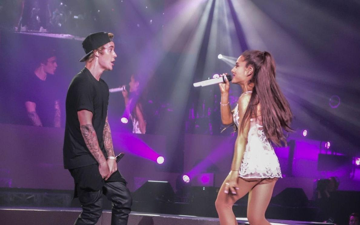 "justin ariana - Джастин Бибер и Ариана Гранде выпустят благотворительный сингл ""Stuck With U"""