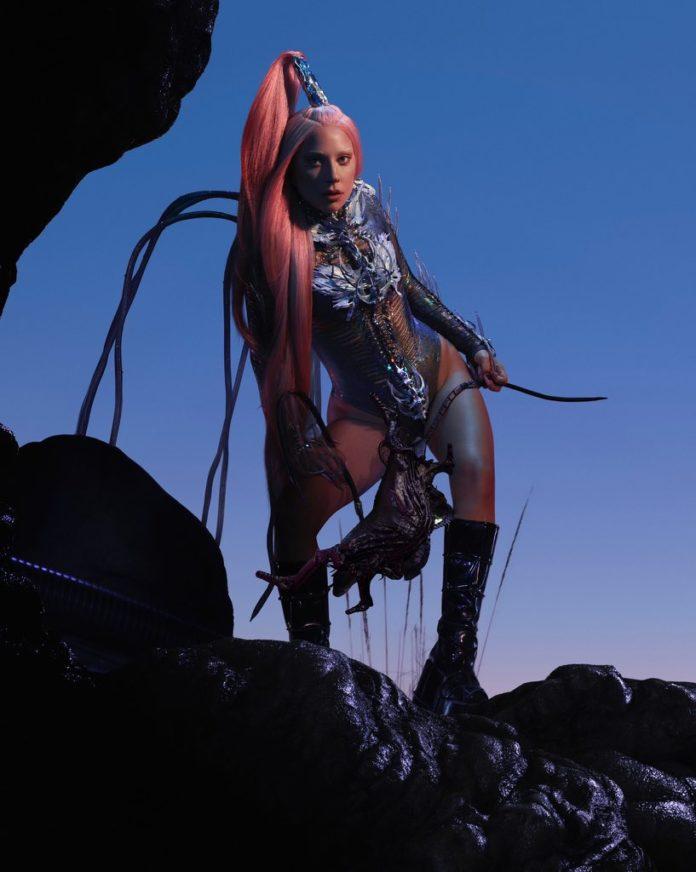 lady gaga chromatica promo pic 2020 696x872 - 10 лучших дуэтов Lady Gaga по версии Billboard