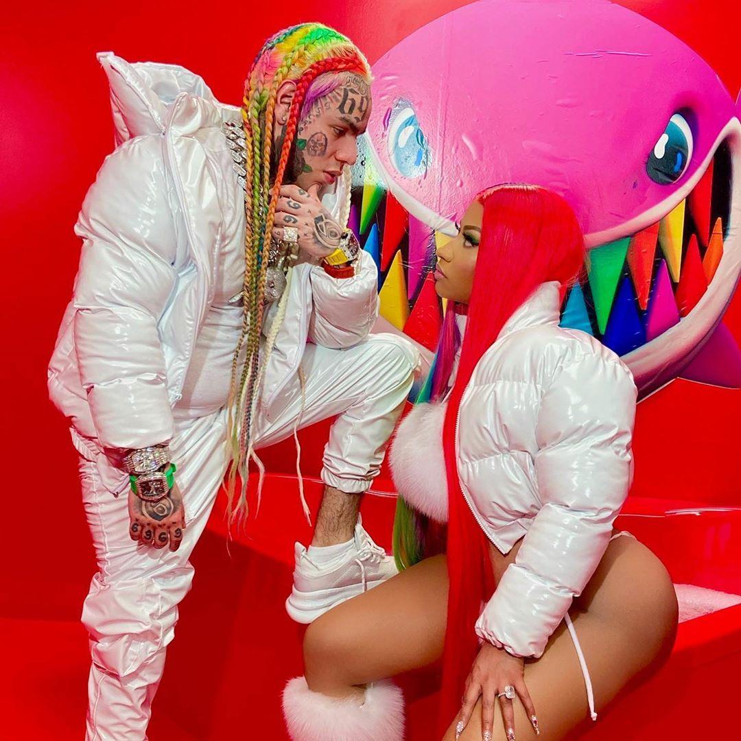 6ix9ine Nicki Minaj - 6ix9ine & Nicki Minaj - TROLLZ