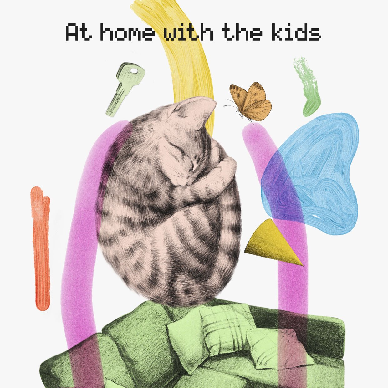 at home with the kids - Tove Lo - Buzz Buzz Hop Hop (превью песни)