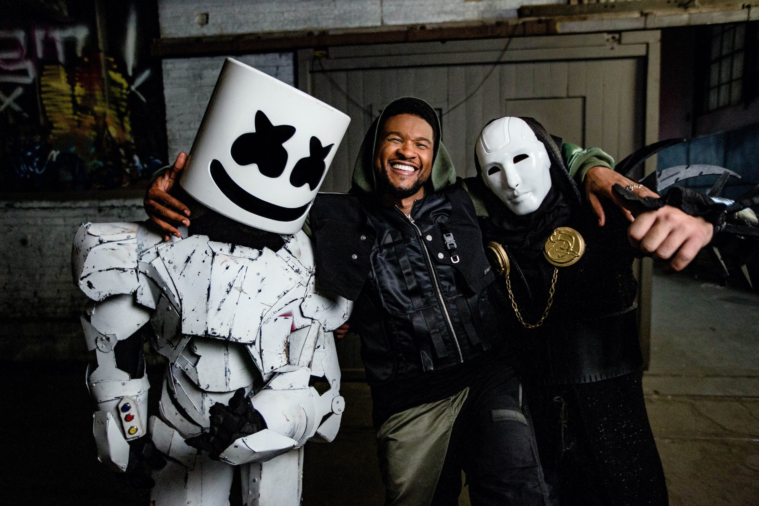 Marshmello Imanbek Too Much feat. Usher pic scaled - Marshmello & Imanbek - Too Much (feat. Usher)