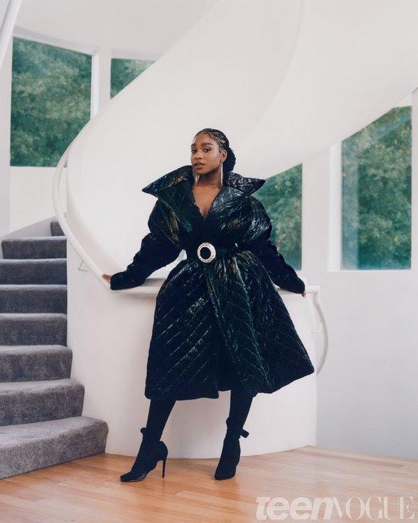Normani Teen Vogue 2020 4 - Фото: Normani на обложке Teen Vogue