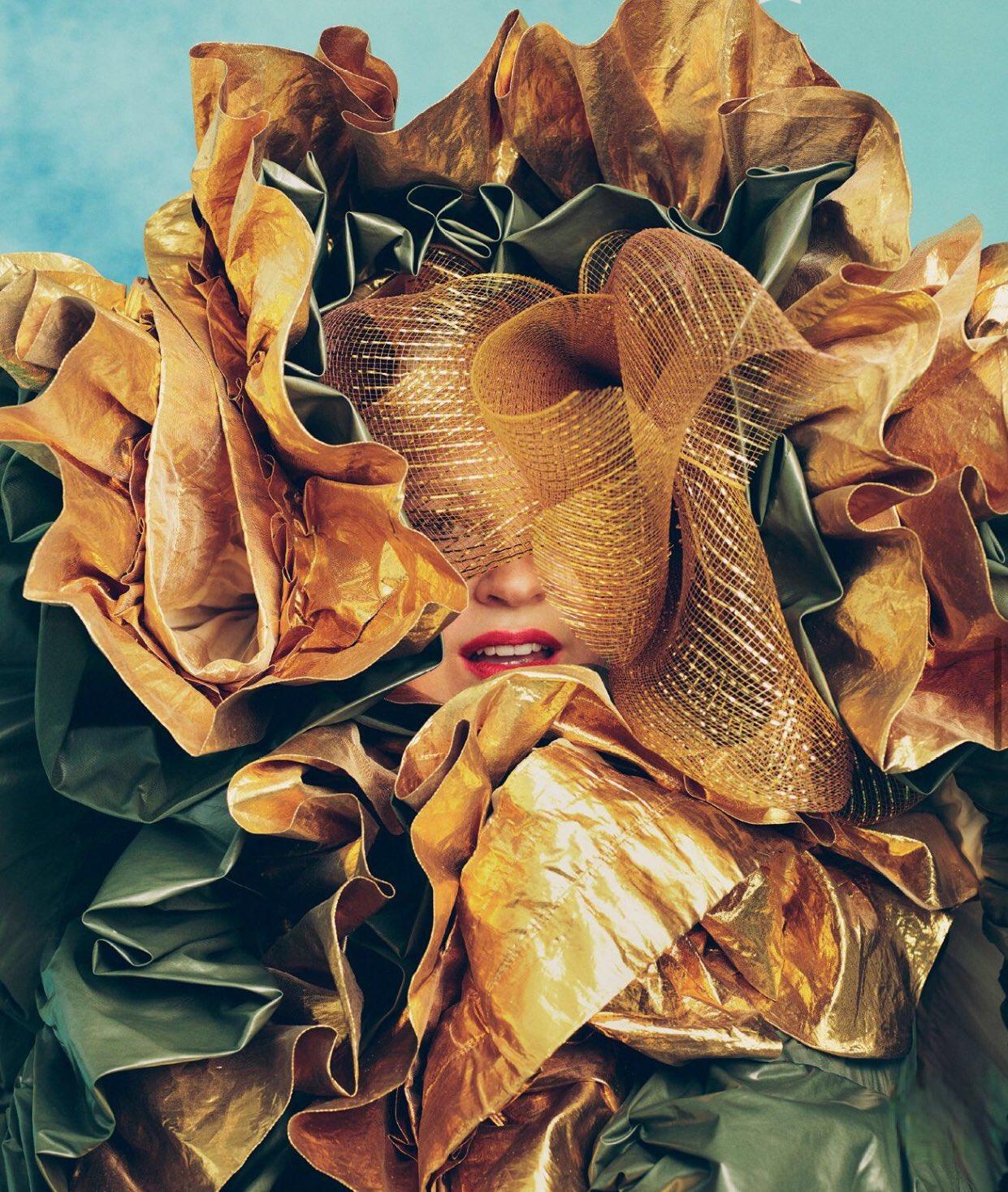 Sia Vogue Australia 1 - Фото: Sia на обложке Vogue Australia