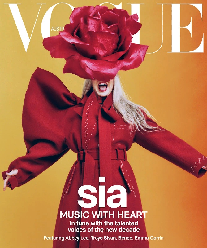 Sia Vogue Australia 9 - Фото: Sia на обложке Vogue Australia