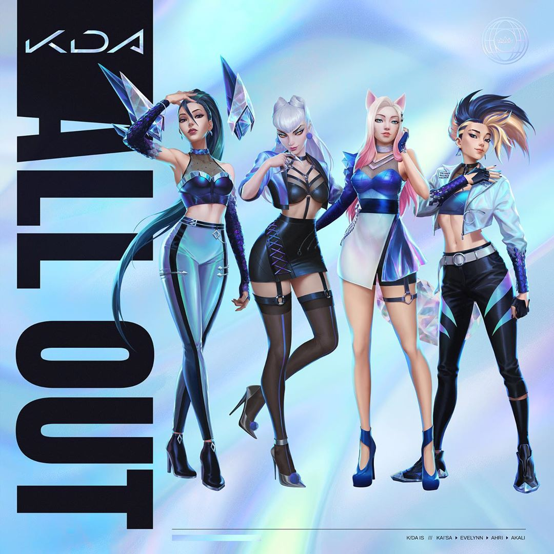 kda all out - K/DA - MORE (feat. Madison Beer, (G)I-DLE, Lexie Liu, Jaira Burns, Seraphine)