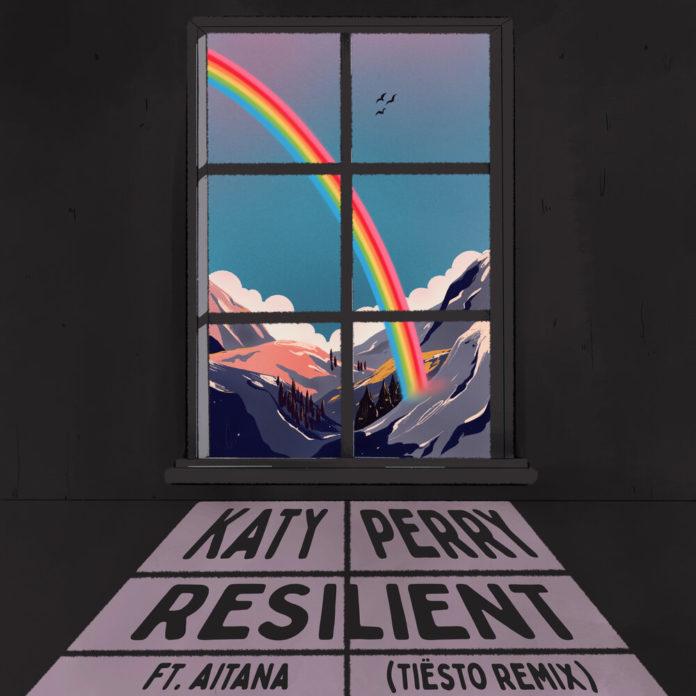 Katy Perry Resilient Tiesto Remix feat. Aitana 696x696 - Katy Perry - Resilient (Tiësto Remix) [feat. Aitana]